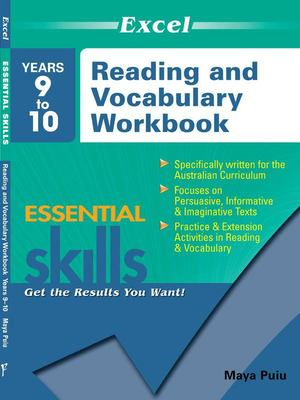 Years 9–10 Reading and Vocabulary Workbook: Essential Skills