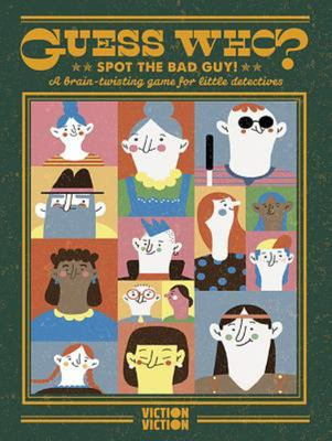 Spot the Bad Guys!: A Brain-Twisting Game for Little Detectives (Ages 8+)