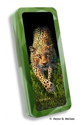 Pencil Tin Leopard