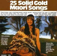25 Solid Gold Maori Songs: CD with Sheet Music Portfolio
