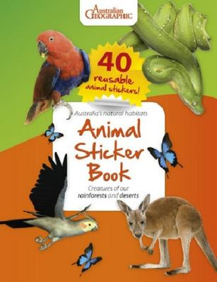Australian Geographic  Animal Sticker Book