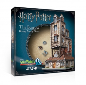 The Burrow 3D Puzzle - HARRY POTTER