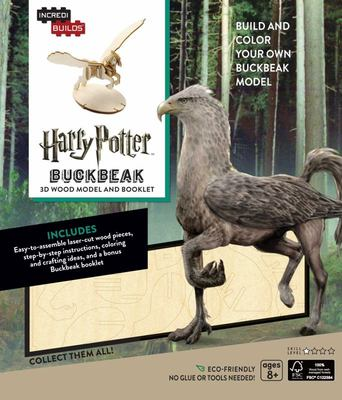 IncrediBuilds: Harry Potter: Buckbeak - 3D Wood Model