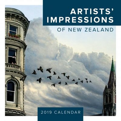 Artist's Impressions of New Zealand 2019 Square Calendar