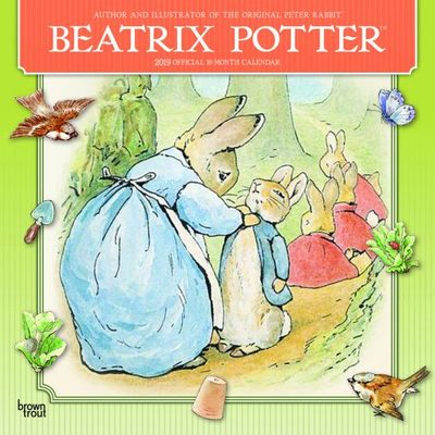 Beatrix Potter 2019 Square Calendar
