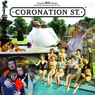 Coronation Street 2019 Square Wall Calendar