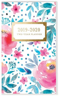 Happy Floral 2019 2 Year Planner