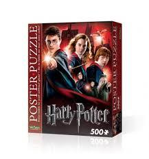 Red Harry Potter Poster Puzzle