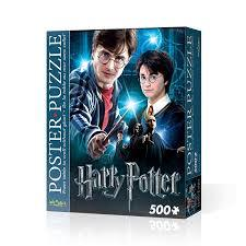 Blue Harry Potter Poster Puzzle