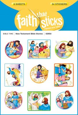 Stickers New Testament Bible Stories