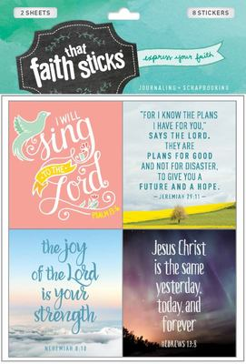 Stickers Jeremiah 29:11
