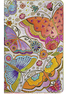 2019 Flutterbyes Midi Horizontal Week-at-a-time Diary