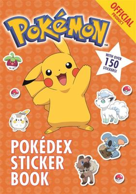 Pokémon Pokédex Sticker Book