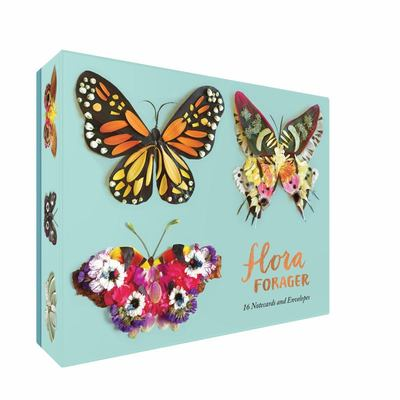 Flora Forager - Butterflies Notecards