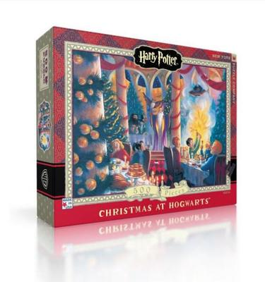 Christmas at Hogwarts 500 Piece Jigsaw Puzzle