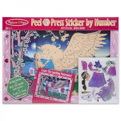 Mystical Unicorn Peel & Press Sticker