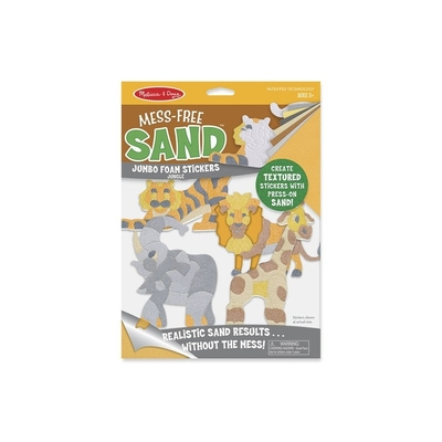 Mess Free Sand Foam Stickers Jungle