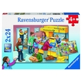 Ravensburger: The Busy Post Office Puzzle 2x24pc