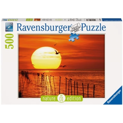 Ravensburger: Magical Sunset Puzzle 500pc