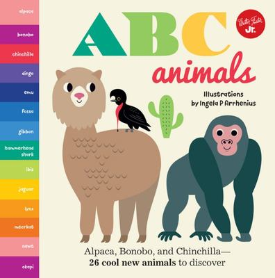 Little Concepts: ABC Animals - Alpaca, Bonobo, and Chinchilla - 26 Cool New Animals to Discover