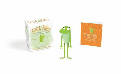 "Yoga Frog[""Reflections from the Lily Pond""]"