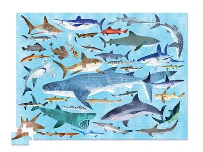 Thirty Six Sharks 100 Canister Puzzle (100pc)