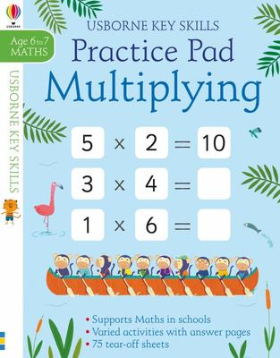 Multiplying and Dividing Practice Pad