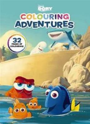 Disney Finding Dory Colouring Adventures