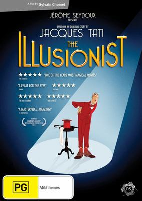 The Illusionist, The DVD
