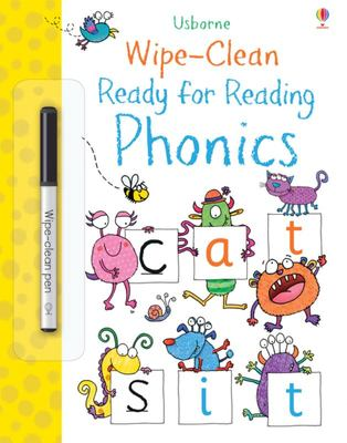 Ready for Reading Phonics (Wipe-Clean)