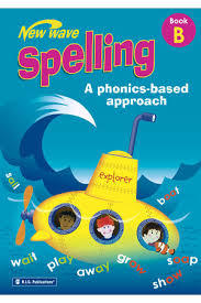 New Wave Spelling Phonics Based Approach Book B - Ages 6-7 - RIC-6268