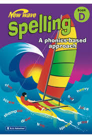 New Wave Spelling Phonics Based Approach Book D - Ages 8-9 - RIC-6270