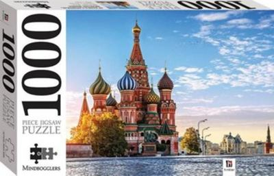 St Basils Cathedral, Russia: 1000-Piece Jigsaw Puzzle Mindbogglers