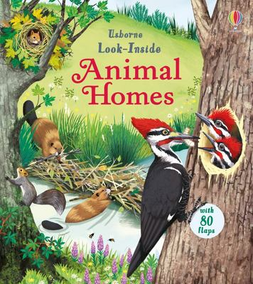 Look Inside Animal Homes (Lift-the-Flap Board Book)