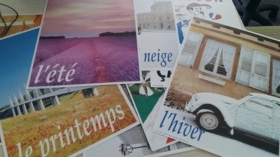 A3 French Posters - Mixed Pack (non-laminated)