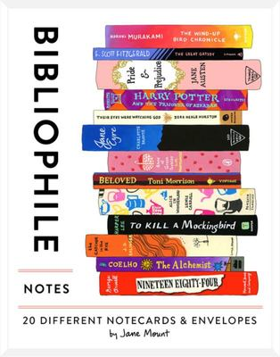 Bibliophile Notes - 20 Different Notecards & Envelopes