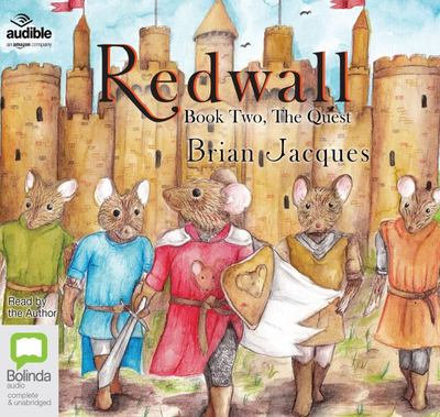 The Quest #2 Redwall audio cd