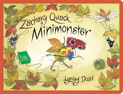Zachary Quack Minimonster (Board Book)