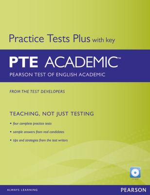 PTE  Academic Practice Tests Plus with Key + CDROM