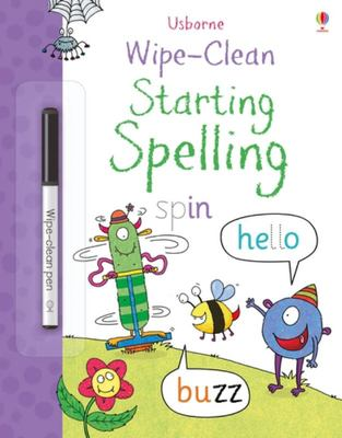 Wipe Clean Starting Spelling