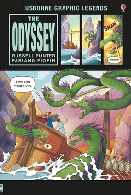 Odyssey (Usborne Graphic Legends)