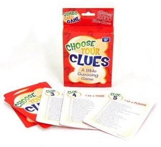 Choose Your Clues Card Game
