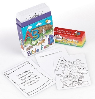 Coloring Cards for Kids Bible Fun