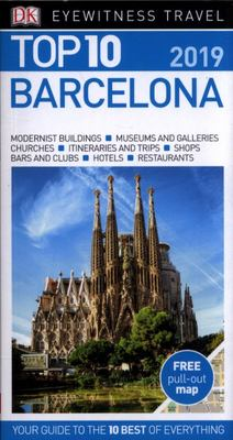 Top 10 Barcelona- DK Eyewitness Travel Guide