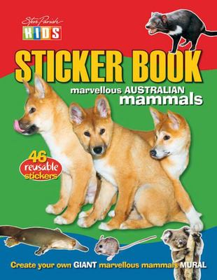 Australian Mammals (Sticker Book)