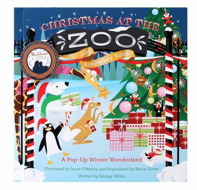 Christmas at the Zoo 10th Anniversary Edition - A Pop-Up Wonderland