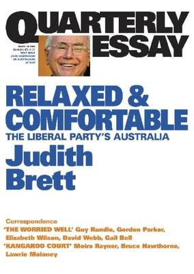 RELAXED AND COMFORTABLE QUARTERLY ESSAY