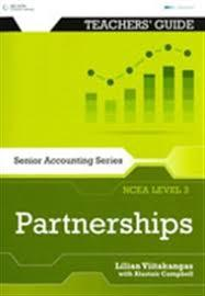 NCEA Accounting - Next Step Level 2 Partnershipd Teacher Resource and CD