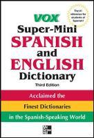 Vox Super-mini Spanish and English Dictionary