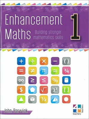 Enhancement Maths Book 1